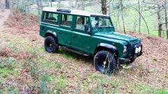 Land Rover Defender 110: la livrea Green British Racing