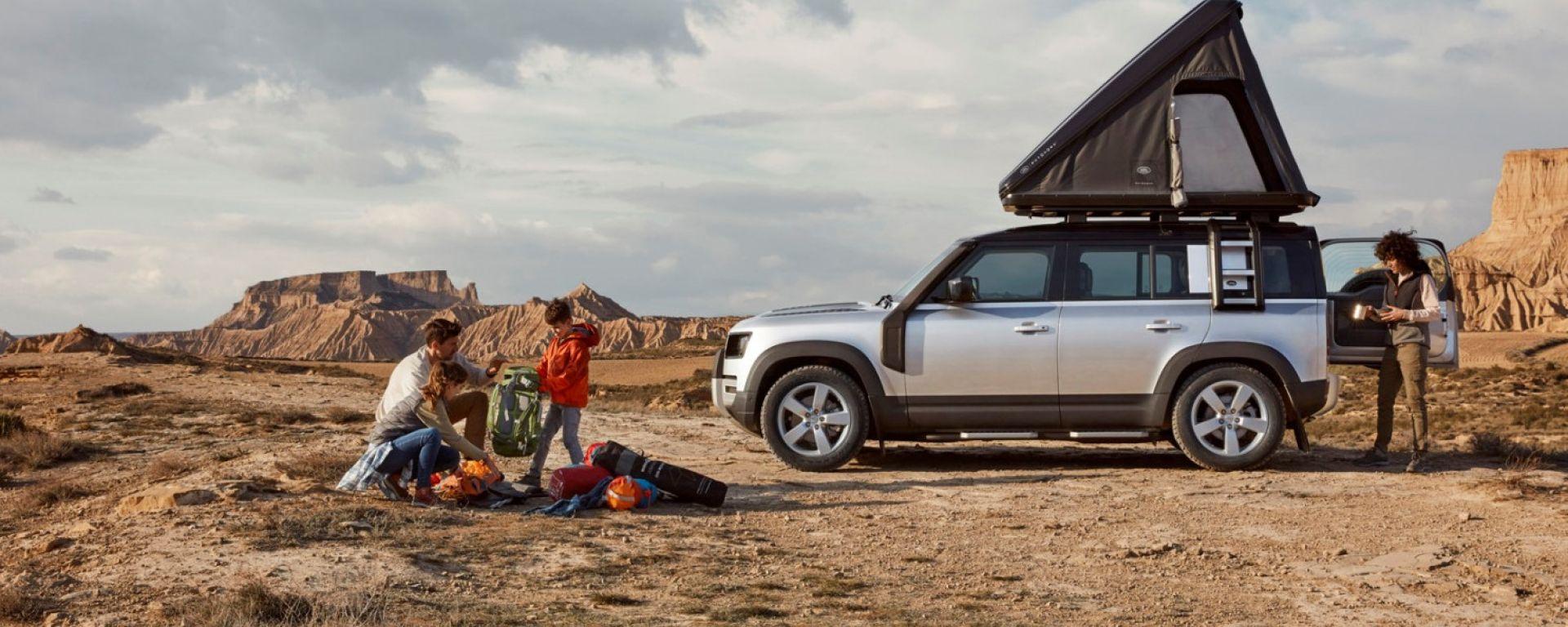 Land Rover Defender 110: la tenda da tetto Autohome