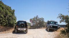 Land Rover Defender 110, un momento del test drive
