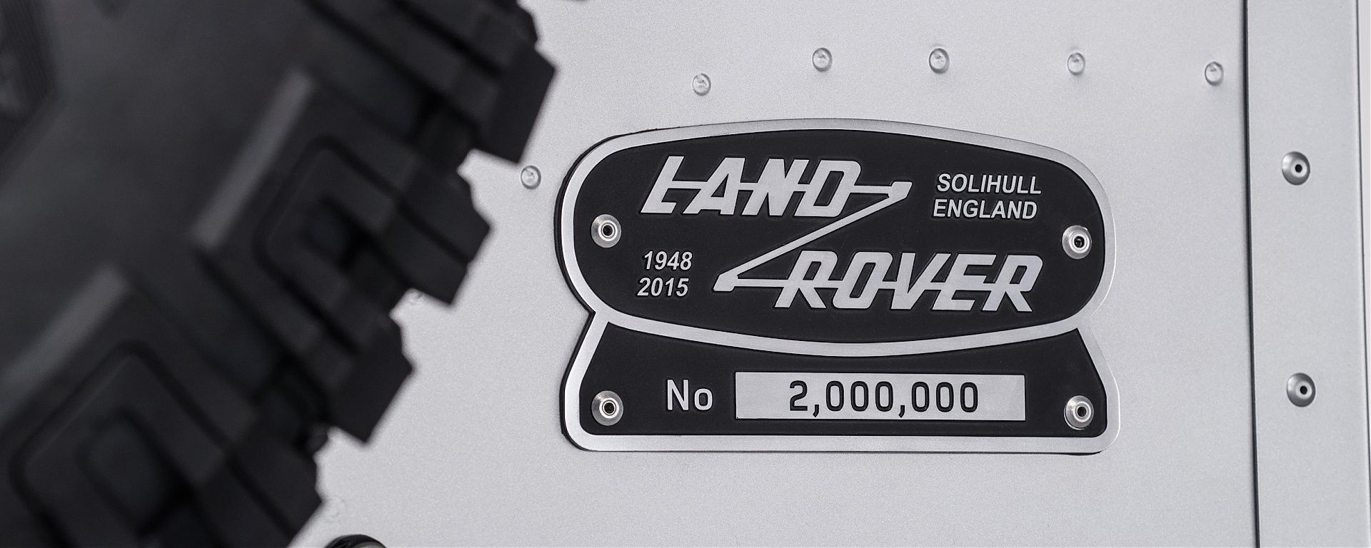 Land Rover Defender 2.000.000th