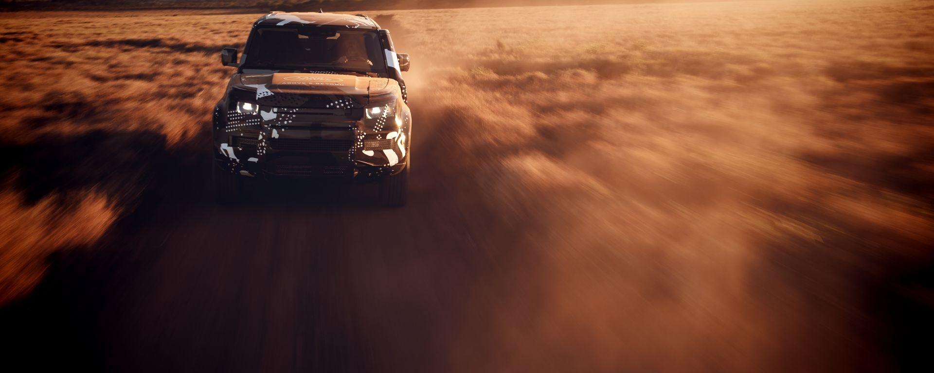 Land Rover Defender 2019: test keniota