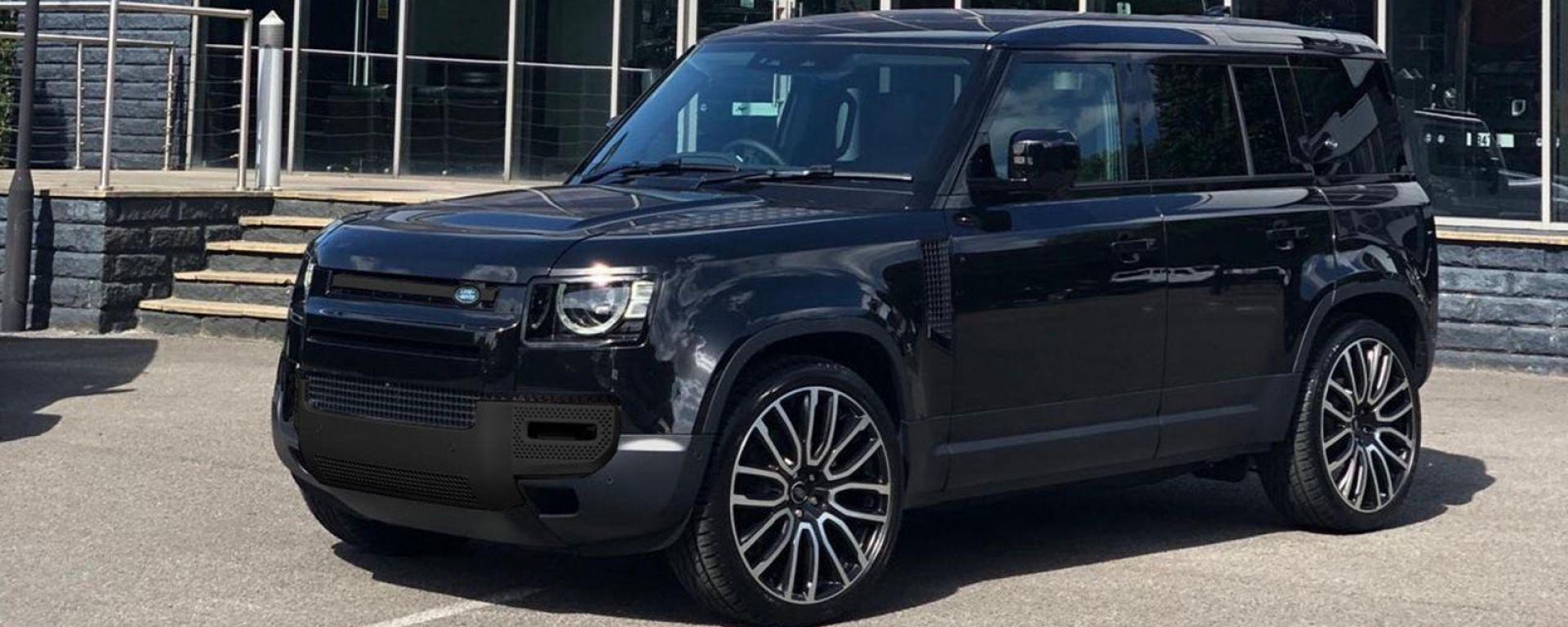 Land Rover Defender 2020, ecco il kit in fibra di carbonio