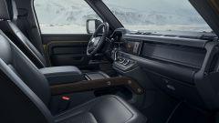 Land Rover Defender 2020, fila anteriore
