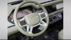 Land Rover Defender 2020: gli interni
