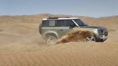 Land Rover Defender 2020, la fiancata