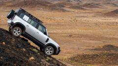 Land Rover Defender 2020, la pendenza non la spaventa