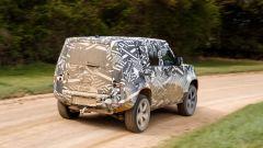 Land Rover Defender 2020: la zona posteriore