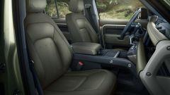 Land Rover Defender 2020, l'abitacolo