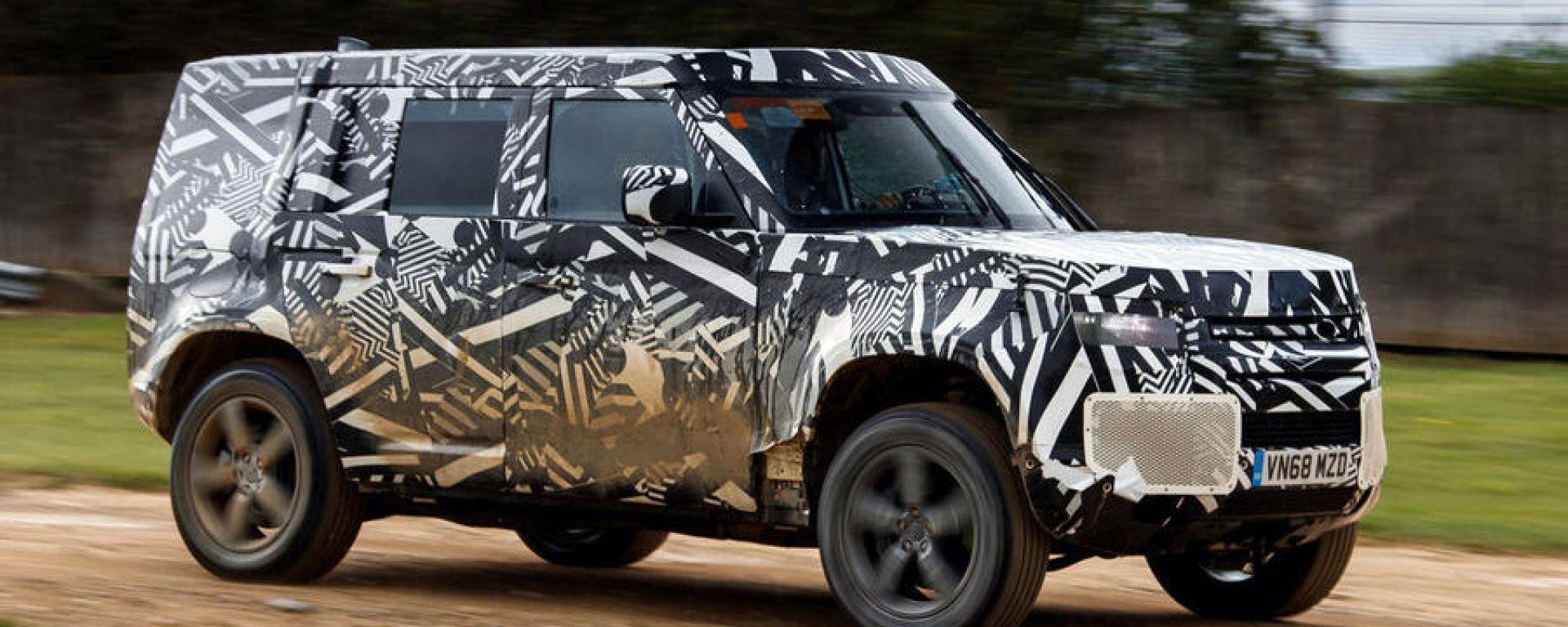 Land Rover Defender 2020: le impressioni di guida della stampa inglese