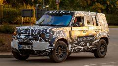 Land Rover Defender 2020, foto spia del modello definitivo - Immagine: 6