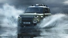 Land Rover Defender 2020, proprietà in fuoristrada al vertice