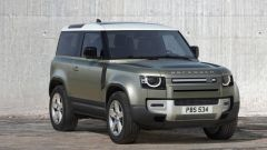 Land Rover Defender 2020, vista 3/4 anteriore