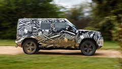 Land Rover Defender 2020: vista laterale