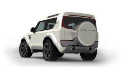 Land Rover Defender 80: fari a LED anche dietro