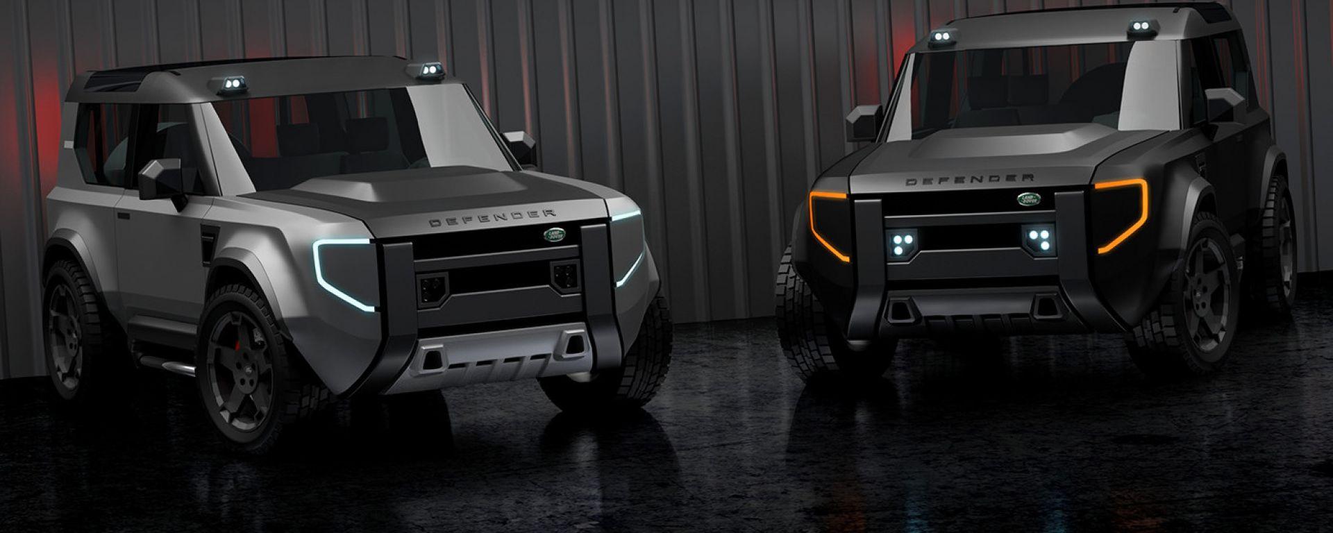 Land Rover Defender 80: nel 2022 potrebbe arrivare la versione taglia XS