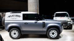 Land Rover Defender 90 Hard Top, la fiancata