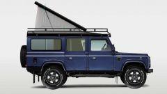 Land Rover Defender Camper vista laterale