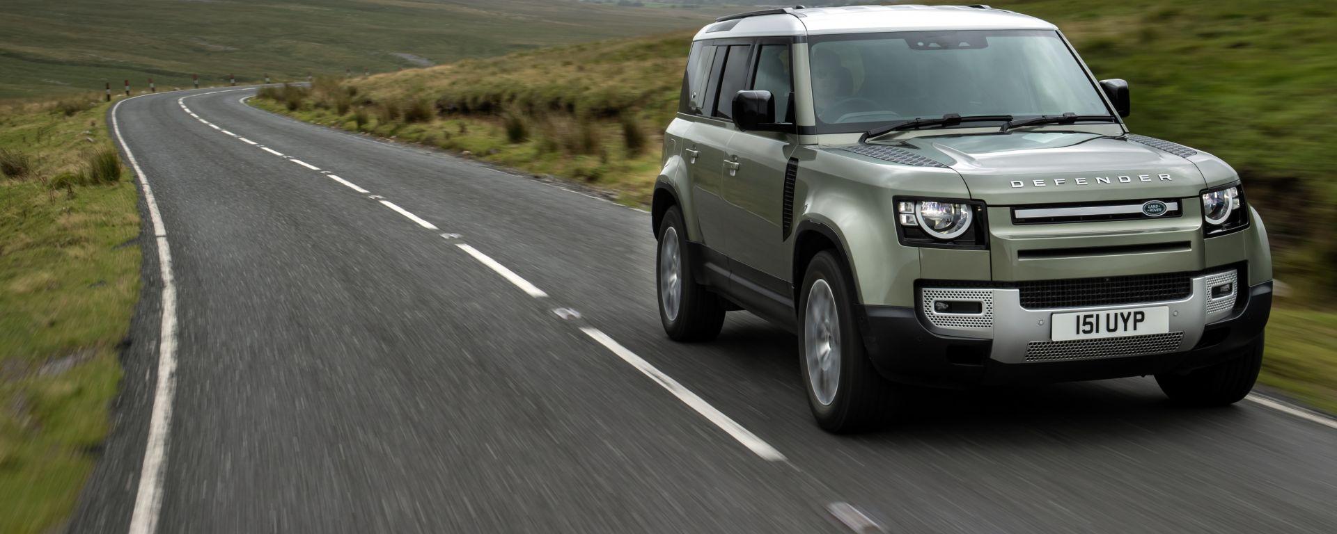 Land Rover Defender Fuel Cell, presto su strada un esemplare a idrogeno