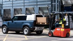Land Rover Defender Hard Top, capacità di traino di 3.500 kg