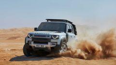 Land Rover Defender: la 130 arriverà nel 2021