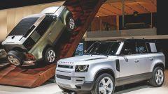 Land Rover Defender: la presentazione del nuovo modello al Salone di Francoforte
