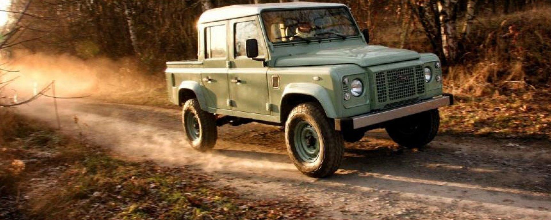 Land Rover Defender, la ricostruzione by Land Serwis