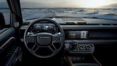 Land Rover Defender: l'abitacolo della 4x4 inglese
