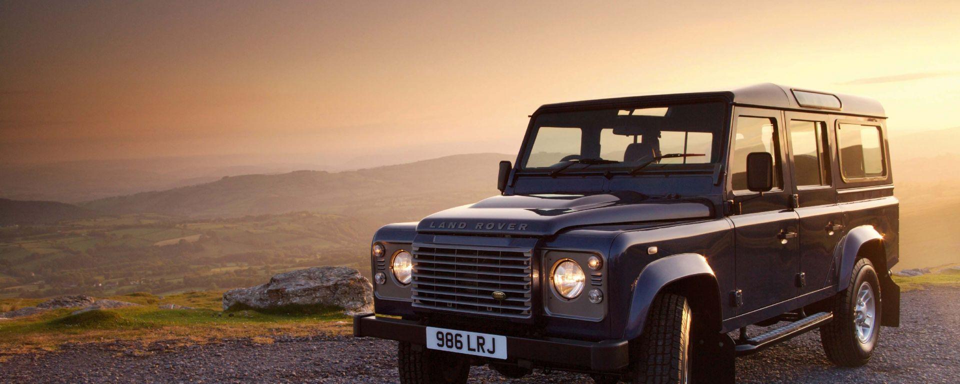 Land Rover Defender: nel 2013 si cambia