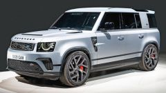 Land Rover Defender SVR? Quando esce e quanti cv. Render