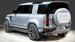 Land Rover Defender SVR, motore V8 biturbo?