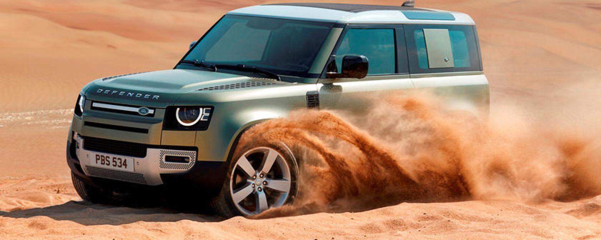 Land Rover Defender SVR: un allestimento sportivo per la fuoristrada inglese