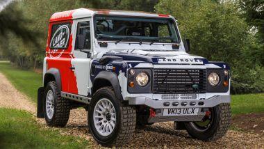 Land Rover Defender SVR: una Defender vecchio modello preparata da Bowler