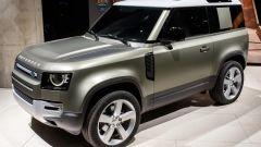 Land Rover Defender: una immagine della 90 dal Salone di Francoforte