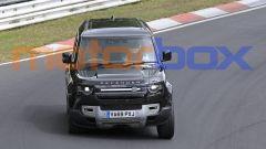 Land Rover Defender V8 2020: visuale frontale