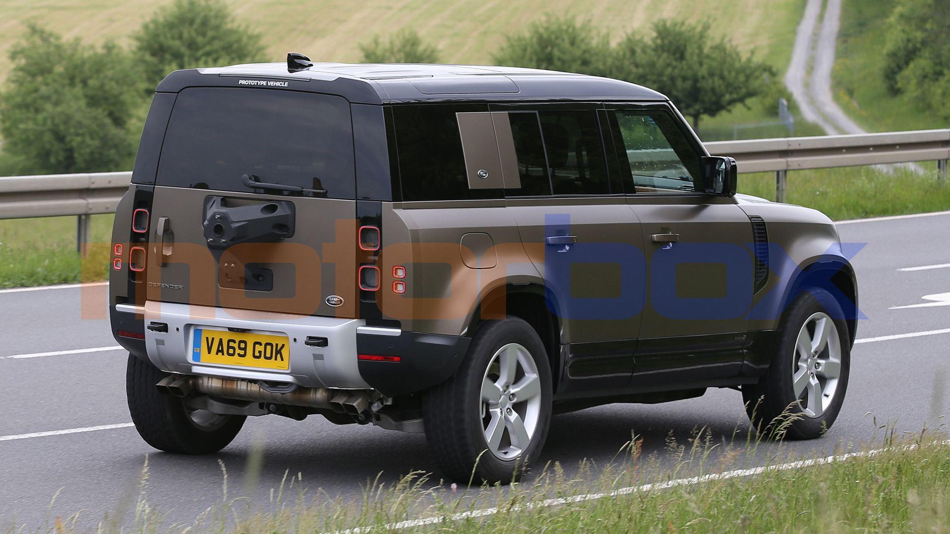 2021 Land Rover Defender V 8 - Specs, Interior Redesign ...