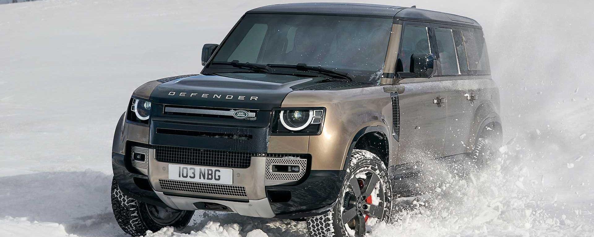 Land Rover Defender V8: la versione