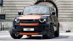 Land Rover Defender Vesuvius Edition: gli esterni possono essere personalizzati con colori a scelta