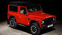 Land Rover Defender Works V8 con 400 CV