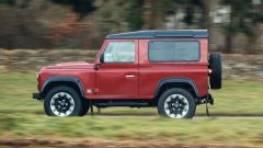 Land Rover Defender Works V8: è disponibile in due varianti di passo, 90 e 110