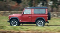 Land Rover Defender Works V8: è disponibile in due varianti di passo, 90 e 110