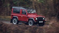 Land Rover Defender Works V8: è disponibile in otto colori