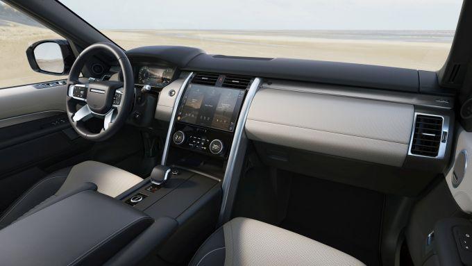 Land Rover Discovery 2020: i nuovi interni