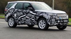 Land Rover Discovery 2020, le foto spia del restyling