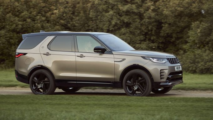 Land Rover Discovery 2020: visuale laterale