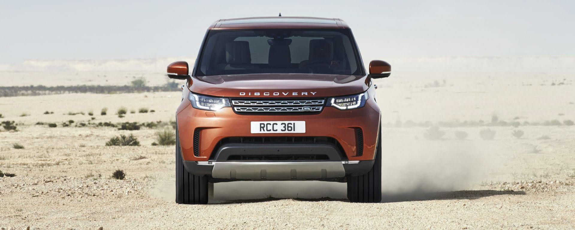 Land Rover Discovery: disponibile da primavera 2017