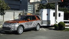 Land Rover Discovery: il Tow Assistant in funzione