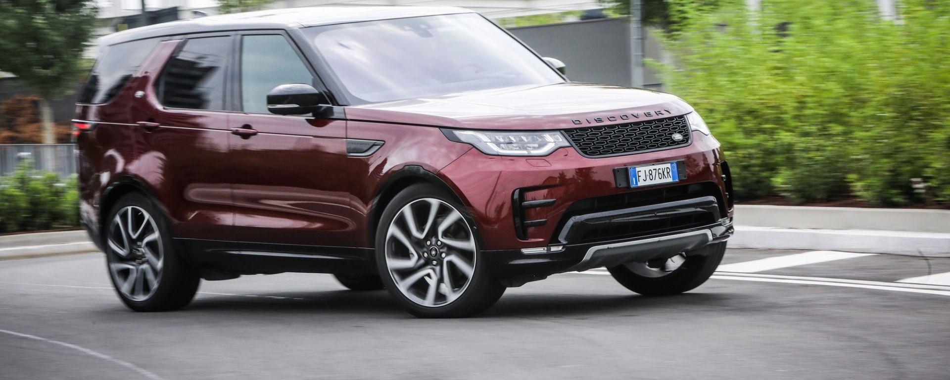 Land Rover Discovery: fuoristrada in salotto