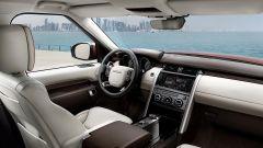Land Rover Discovery sedan: gli interni
