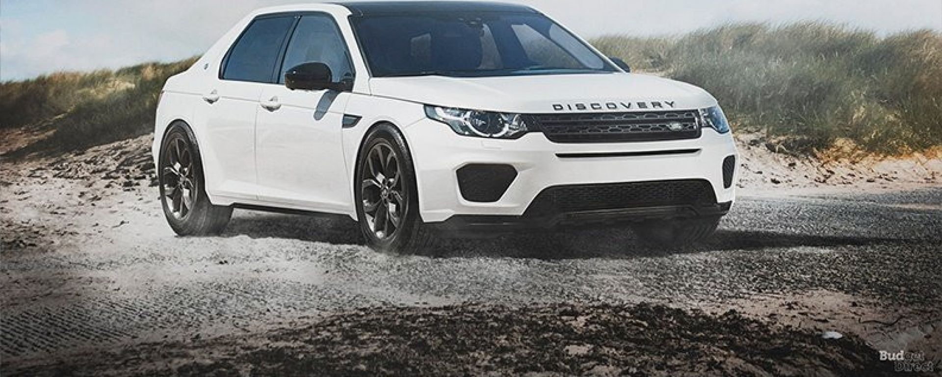 Land Rover Discovery sedan: il 3/4 anteriore