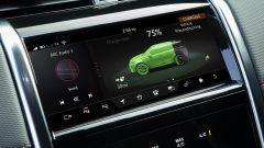Land Rover Discovery Sport P300e, il display multifunzione